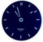 Assistant - АН-1083 (blue) настенные сетевые часы