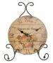 Настольные часы Розы - Н DE7896