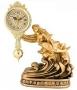 Настольные часы Русалка с дельфином - Н8375-1