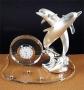 Настольные часы Пара дельфинов - Н14412