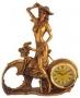 Настольные часы Леди на велосипеде - НК4510-1