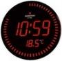 Assistant - AH-1082 (red) настенные сетевые часы